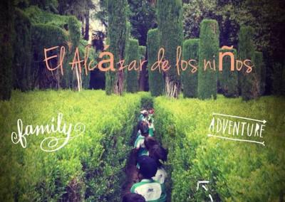 Alcázar de Sevilla para niños
