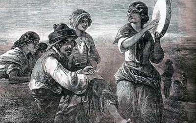 Los primeros gitanos en España