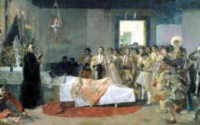 Triste muerte del torero Bocanegra